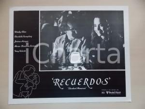 1980 STARDUST MEMORIES Woody ALLEN Jessica HARPER at restaurant *Lobby card