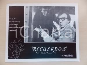 1980 STARDUST MEMORIES Controllore oblitera biglietto a Woody ALLEN *Lobby card