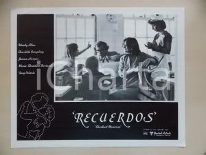 1980 STARDUST MEMORIES Marie-Christine BARRAULT Woody ALLEN *Lobby card 34x28 cm