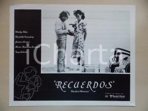 1980 STARDUST MEMORIES Woody ALLEN e Charlotte RAMPLING al porto *Lobby card