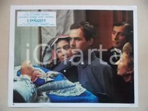 1976 L'INNOCENTE Luchino VISCONTI - Didier HAUDEPIN al battesimo *Lobby card