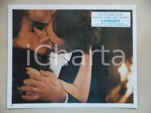 1976 L'INNOCENTE Laura ANTONELLI Giancarlo GIANNINI Bacio passionale *Lobby card