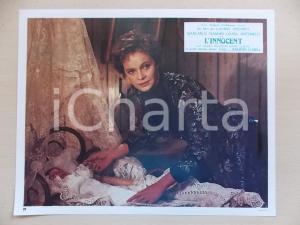 1976 L'INNOCENTE Luchino VISCONTI - Laura ANTONELLI accudisce neonato Lobby card