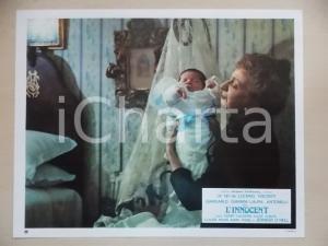 1976 L'INNOCENTE Luchino VISCONTI - Rina MORELLI accudisce neonato *Lobby card
