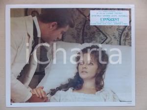 1976 L'INNOCENTE Giancarlo GIANNINI accudisce Laura ANTONELLI malata *Lobby card