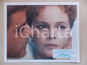 1976 L'INNOCENTE Laura ANTONELLI Giancarlo GIANNINI ritratto *Lobby card 29x23