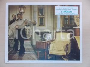1976 L'INNOCENTE Luchino VISCONTI - Laura ANTONELLI Didier HAUDEPIN *Lobby card