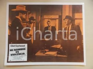 1968 L'UOMO DALLA CRAVATTA DI CUOIO Clint EASTWOOD Lee J. COBB *Lobby card