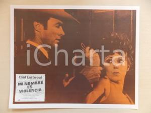 1968 L'UOMO DALLA CRAVATTA DI CUOIO Clint EASTWOOD Tisha STERLING *Lobby card
