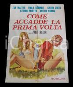 1971 COME ACCADDE LA PRIMA VOLTA Viola BOHMELT Karin GOTZ *Manifesto 100x140 cm