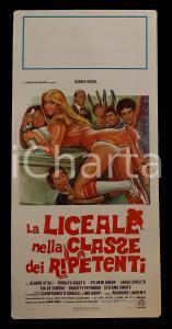 1978 LA LICEALE NELLA CLASSE DEI RIPETENTI Gloria GUIDA Alvaro VITALI *Manifesto