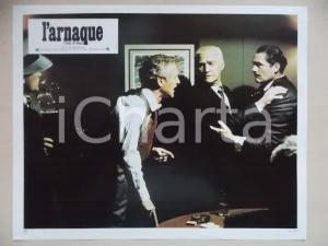 1973 LA STANGATA Paul NEWMAN Robert SHAW *Lobby card EDIZIONE FRANCESE
