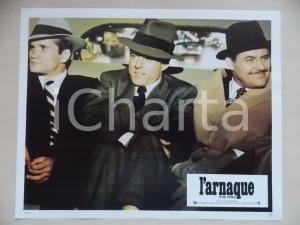 1973 LA STANGATA Robert REDFORD Robert SHAW *Lobby card EDIZIONE FRANCESE 29x23