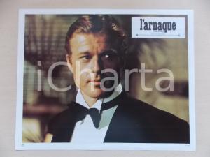 1973 LA STANGATA Robert REDFORD indossa smocking *Lobby card EDIZIONE FRANCESE