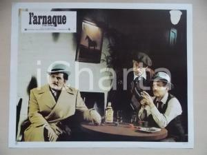 1973 LA STANGATA Robert REDFORD Paul NEWMAN bevono gin GORDON'S *Lobby card