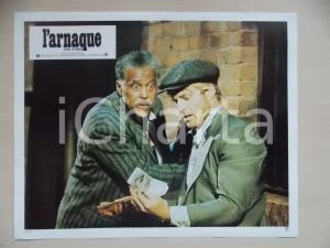 1973 LA STANGATA Robert REDFORD Robert Earl JONES *Lobby card EDIZIONE FRANCESE