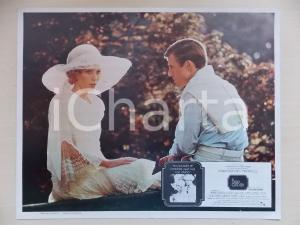 1974 GREAT GATSBY Robert REDFORD Mia FARROW at park *Lobby card MEXICAN EDITION
