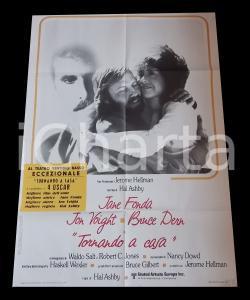 1978 TORNANDO A CASA Jane FONDA Jon VOIGHT Bruce DERN Hal ASHBY *Manifesto