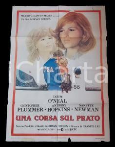 1978 UNA CORSA SUL PRATO Tatum O'NEAL Christopher PLUMMER *Manifesto 100x140