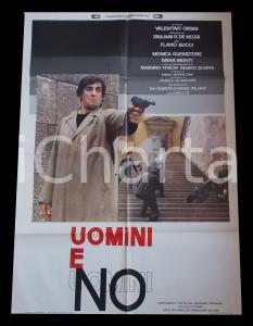 1981 UOMINI E NO Flavio BUCCI Monica GUERRITORE Valentino ORSINI *Manifesto