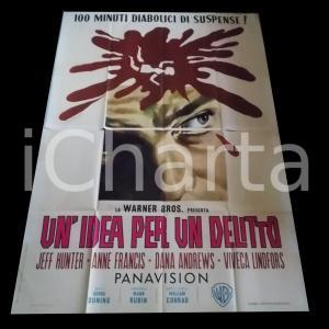 1965 UN'IDEA PER UN DELITTO Jeffrey HUNTER Dana ANDREWS Anne FRANCIS *Manifesto
