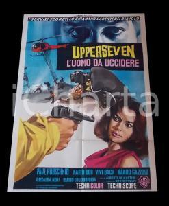 1966 UPPERSEVEN L'uomo da uccidere - Paul HUBSCHMID Karin DIOR *Manifesto