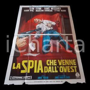 1964 LA SPIA CHE VENNE DALL'OVEST Sean FLYNN Madeleine ROBINSON *Manifesto