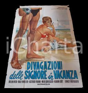 1971 DIVAGAZIONI DELLE SIGNORE IN VACANZA Sybil DANNING Astrid FRANK *Manifesto