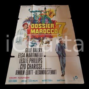 1967 DOSSIER MAROCCO 7 Gene BARRY Elsa MARTINELLI Leslie PHILLIPS *Manifesto