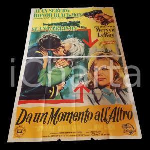 1965 DA UN MOMENTO ALL'ALTRO Jean SEBERG Honor BLACKMAN Arthur HILL *Manifesto
