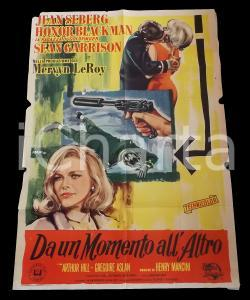 1965 DA UN MOMENTO ALL'ALTRO Jean SEBERG Honor BLACKMAN Arthur HILL Manifesto