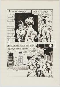 1970 ca BONNIE n.108 tav.105 Originale Camillo ZUFFI - Rapimento *EDIPERIODICI