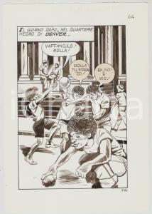 1975 ca UCCIDI TUA SORELLA Vincenzo NISCO Tav.64 originale - Sobborghi di DENVER