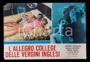 1969 L'ALLEGRO COLLEGE DELLE VERGINI INGLESI Derek AYLWARD Rose ALBA *Lobby card