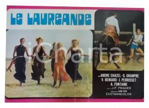 1973 LE LAUREANDE André CHAZEL Gisèle GRANDPRE' Victor BENIARD *Lobby card 63x45