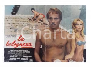 1973 LA BOLOGNESE Franca GONELLA Luciano PIGOZZI Olga ROMANELLI Lobby card 63x45