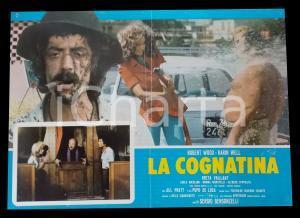 1975 LA COGNATINA Karin WELL Greta VAYAN Robert WOODS *Lobby card 63x45 cm