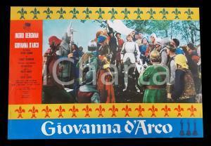 1948 GIOVANNA D'ARCO Ingrid BERGMAN José FERRER Victor FLEMING *Lobby card 63x45