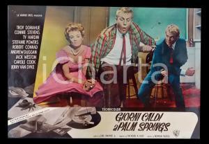 1963 GIORNI CALDI A PALM SPRINGS Jerry VAN DYKE Zeme NORTH *Lobby card 63x45 cm