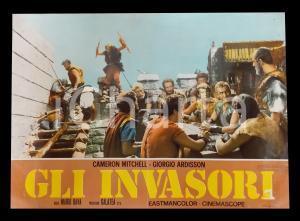 1961 GLI INVASORI Mario BAVA Cameron MITCHELL George ARDISSON *Lobby card 63x45