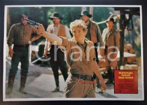 1985 PALE RIDER Chris PENN - Clint EASTWOOD *Lobby card EDIZIONE SERBA 32x22 cm