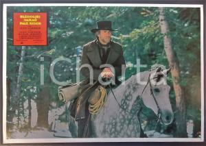1985 PALE RIDER Clint EASTWOOD a cavallo *Lobby card EDIZIONE SERBA 32x22 cm