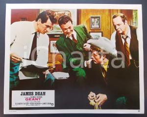 1970 ca IL GIGANTE James DEAN Rock HUDSON Monte HALE *Lobby card ED. FRANCESE