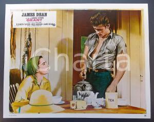 1970 ca IL GIGANTE Elizabeth TAYLOR James DEAN *Lobby card EDIZIONE FRANCESE