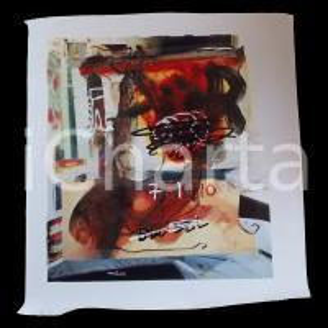 1990 ca Max KUATTY Serie HAPPY ISLAND *Stampa su pvc 110x120 cm
