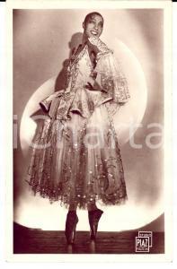 1925 ca FRANCE Joséphine BAKER - La joie de Paris *Cartolina postale FP NV
