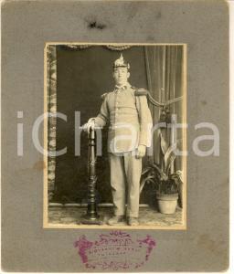 1900 ca s. l. DEUTSCHES HEER Ritratto giovane ufficiale *Foto Giovanni M. NARDI