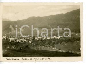 1944 ROVETTA CON FINO (BG) Veduta panoramica del paese - VALLE SERIANA Cartolina