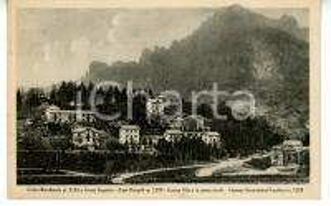 1946 ABBADIA LARIANA Piani Resinelli - GRIGNETTA e Cresta SEGANTINI *Cartolina