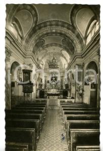 1943 CASTELNUOVO DON BOSCO - MONDONIO Interno chiesa parrocchiale *Cartolina FP